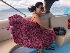 he ride to L'Alyana was something else - I just couldn't contain myself 🤣💨 . Wind Skirt, Something Else, Cloaks, Petticoats, Speed Boats, Dress Skirt, Vintage Ladies, Lady, Classic