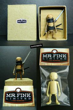Mr Fink - Fink Warriors & Exclusive Retailer Editions from Scott Bellwood x Play Dead Toys