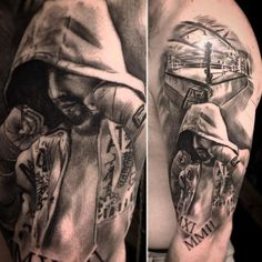 Znalezione obrazy dla zapytania boxing tattoo sleeve boxing tips Mommy Tattoos, New Tattoos, Tattoos For Guys, Cool Tattoos, Boxer Tattoo, Arm Tattoo, Sleeve Tattoos, Tattoo Pain, Boxing Gloves Tattoo