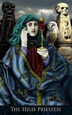 The High Priestess - Bohemian Gothic Tarot