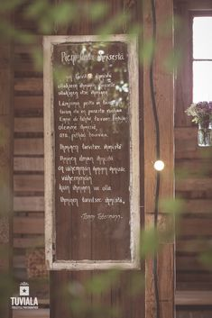 Taulu ikkunasta My Perfect Wedding, Old Windows, Barista, Chalkboard Quotes, Art Quotes, Tin, Projects To Try, Wedding Inspiration, Lettering