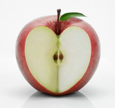 Day 155 [Mother's Day] Apple heart