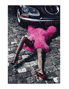 paris mon amour: aymeline valade, isabeli fontana, doutzen kroes, kati nescher, arizona muse, suvi koponen, anais mali and nadja bender by mario sorrenti for vogue paris august 2012 | visual optimism; fashion editorials, shows, campaigns & more!