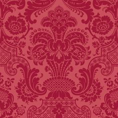 Venus Clcial Damask Wallpaper 6 Colors 50 Liked On Polyvore Featuring Home Decor And