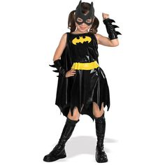 Simply Superheroes - Batgirl Bat Girl Child Costume