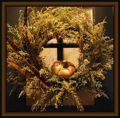 Sweet Annie, Dried wreath