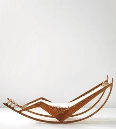 Franco Albini - rocking chaise longue, circa 1940