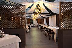 La sala del ristorante Osteria in Scandiano in Sintesy Touch    #restaurant #flooring #lvt