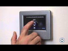 Carrier Infinity WiFi Thermostat - Features: Continuous Fan, Humidity, & myinfinity (6 of 7) | #hvac #summer #hot #DIY