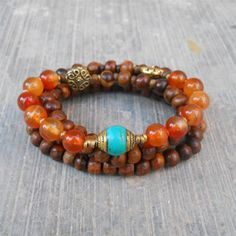 Stability and truth  108 mala wood prayer beads with by lovepray, $74.00