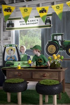 John Deere Birthday Party Supplies #Kids #Birthday #BirthdayExpress