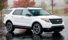 Ford Explorer.. Next big kid purchase :) only 1 more year and my pos will be paid off but after I get my choc lab of course, he will come first :)