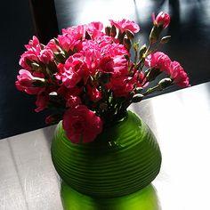 Vase Guaxs Somba S light green/black/steel grey