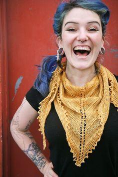 free knitting pattern on Raverly The Sunlight Shawl for Sad People by Sylvia Bo Bilvia