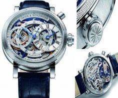 Grieb & Benzinger Blue Sensation timepiece