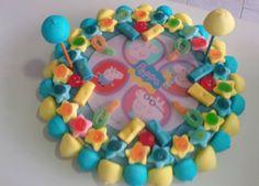 Tarta Peppa Pig para cumpleaños de niño.