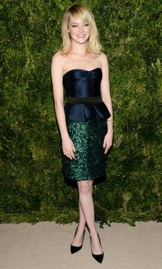 Emma Stone crowned 2012's best dressed, twice..