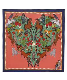 I Love Everything Silk Scarf, Liberty.