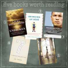 Summer reading:  Unbroken, Bringing Up Bebe, Redemption, 7: An Experimental Mutiny Against Excess, American Heiress