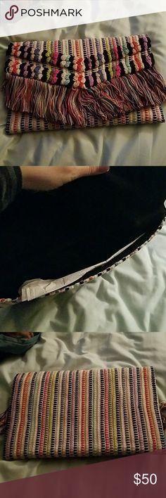 Stella and Dot Taj clutch NWOT Never used Stella and dot Taj clutch Stella & Dot Bags Clutches & Wristlets
