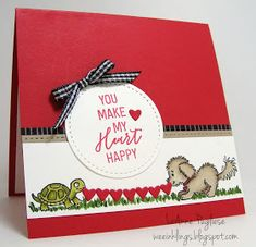 Bella and Friends, Valentines, PP January Stampin Up Kinder Valentines, Valentine Love Cards, Valentine Ideas, Valentine Decorations, Valentine's Cards For Kids, Cards For Friends, Mini Albums, Dog Cards, Scrapbooking