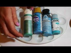 How to paint dot mandalas- tools and tips - YouTube