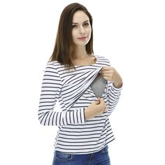 Maternity Clothes Maternity Tops/ t shirt Breastfeeding shirt Nursing Tops pregnancy clothes for pregnant women