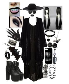 """pure f*cking evil"" by bvb-army4life ❤ liked on Polyvore featuring Kawasaki, Mikoh, Chanel, Lanvin, ASOS, Pieces and Topshop"