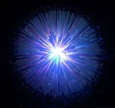 Picture of Fiber Optic LED Dandelion Lamp