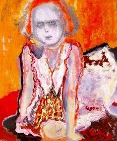 Marlene Dumas Paintings: Expressionistic Portraits | MARLENE DUMAS | Scoop.it