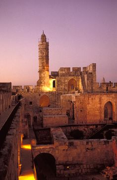Jerusalem City Museum of Citadel of David and Jaffe gate, Israel