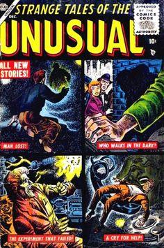Strange Tales of the Unusual # 1 by Joe Maneely & Carl Burgos