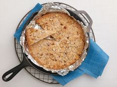 Skillet Almond Shortbread Recipe : Trisha Yearwood : Food Network - FoodNetwork.com