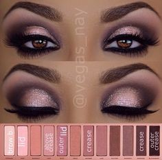 Naked Palette 3 eyeshadow/ Jessica's wedding make up Love Makeup, Makeup Inspo, Makeup Tips, Makeup Looks, Makeup Ideas, Pretty Makeup, Makeup Tutorials, Makeup Style, Beauty Tutorials