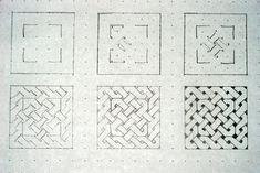 Risultati immagini per celtic knot tutorial Celtic Drawings, Easy Drawings, Celtic Patterns, Celtic Designs, Doodles Zentangles, Zentangle Patterns, Celtic Knot Tutorial, Celtic Images, Drawn Art