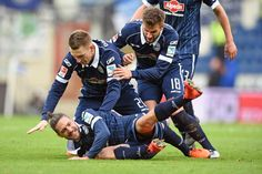 Nöthe und Ulm drehen in Überzahl das Spiel gegen Karlsruhe +++  Riesenjubel auf der Alm – Arminia gelingt erster Heimsieg