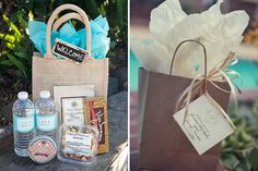 Wedding Gifts For Guests how to create a perfect indian wedding welcome Details - An Indian wedding welcome bag is perfect for out-of-town guests. Anyone can whip up a welcome bag, but certain ingredients to make them fun and unique. Wedding Guest Bags, Wedding Gifts For Guests, Beach Wedding Favors, Wedding Souvenir, Nautical Wedding, Diy Wedding, Guest Welcome Baskets, Wedding Welcome Baskets, Hotel Welcome Bags