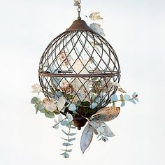 Shop the Look: A Botanical Nest Lantern