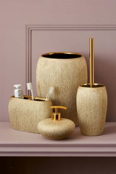 Bathroom Accessories Next your bathroom will look that much cleaner if you keep homogenous