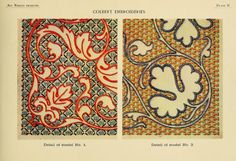 Colbert embroideries 1918