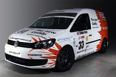 Volkswagen Caddy race van - yes it's a van, yes it races, yes it's a triumph of marketing over motorsport!