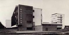 interesting topic: bauhaus & clothing. Lucia Moholy's Bauhaus building in Dessau, Mima Middlesbrough