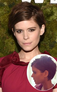 Kate Mara Debuts a Pixie Cut, Laverne Cox Gets Bangs—See Their Chic New Hairstyles! Kate Mara, Hair