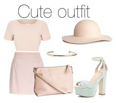 """""""Untitled #6"""" by nonnaaxo ❤ liked on Polyvore featuring River Island, H&M and Pieces"""