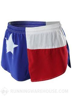texas running shorts