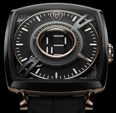 Last week's teaser revealed! New MCT Manufacture Contemporaine du Temps Dodekal One D110 released for BaselWorld 2017. The center-mounted hour indicator window presents the appearance of a digital numeral indicator that you might recognize from the LCD screens. Still all purely mechanical. More in our latest article…