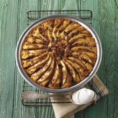 BBQ GRILLING #BBQ #Grilling Apple Cake with Cinnamon Sugar