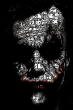 The Joker . The Dark Knight – Anime Characters Epic fails and comic Marvel Univerce Characters image ideas tips Joker Batman, Heath Ledger Joker, Joker Art, Joker And Harley Quinn, Batman Art, Marvel Art, Marvel Avengers, Superman, Batman Wallpaper