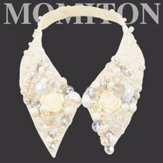 Embellished Lace Collar Lace Collar, Bridal Necklace, Design Inspiration, Necklaces, Diamond, Jewelry, Fashion, Jewellery Making, Moda