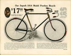 photos sears catalog 1889 | 1914 Sears Roebuck catalog ) ( bicycle ad )